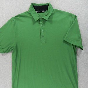 Travis Mathew 4 Button Short Sleeve Polo Shirt